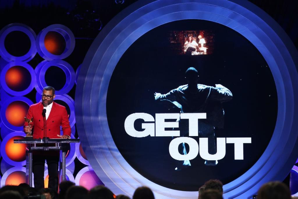 Jordan Peele won a Nebula award for 'Get Out'