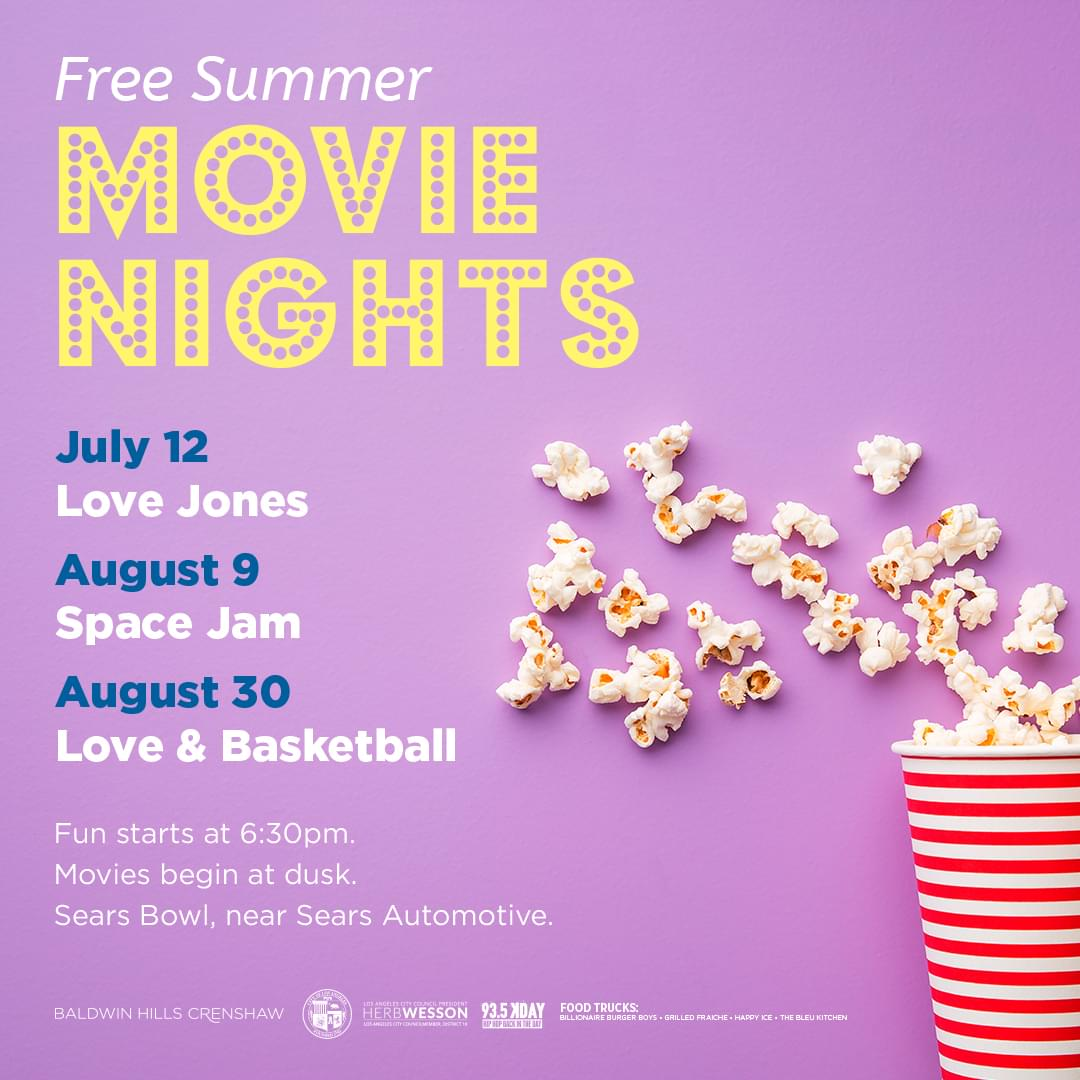 Free Summer Movie Nights