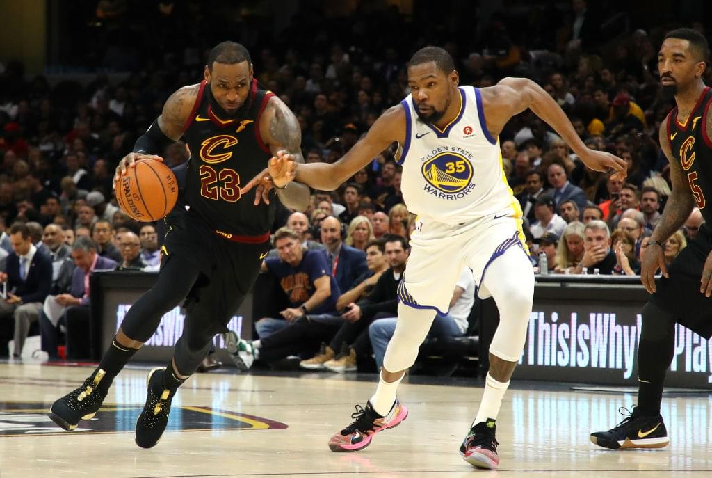 """Kevin Durant Says LeBron James Joining The Lakers Is """"Perfect Next Step For Him"""""""