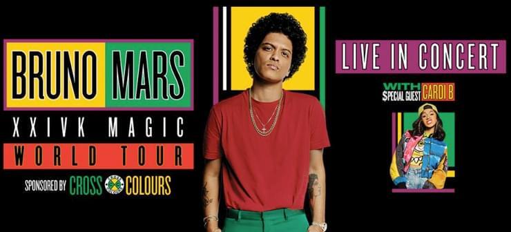 Bruno Mars and Cardi B