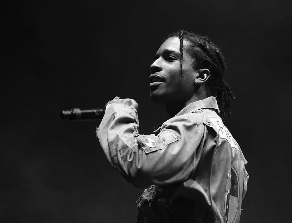 A$AP Rocky Breaks Up Fight At Concert & Makes Fans Hug It Out