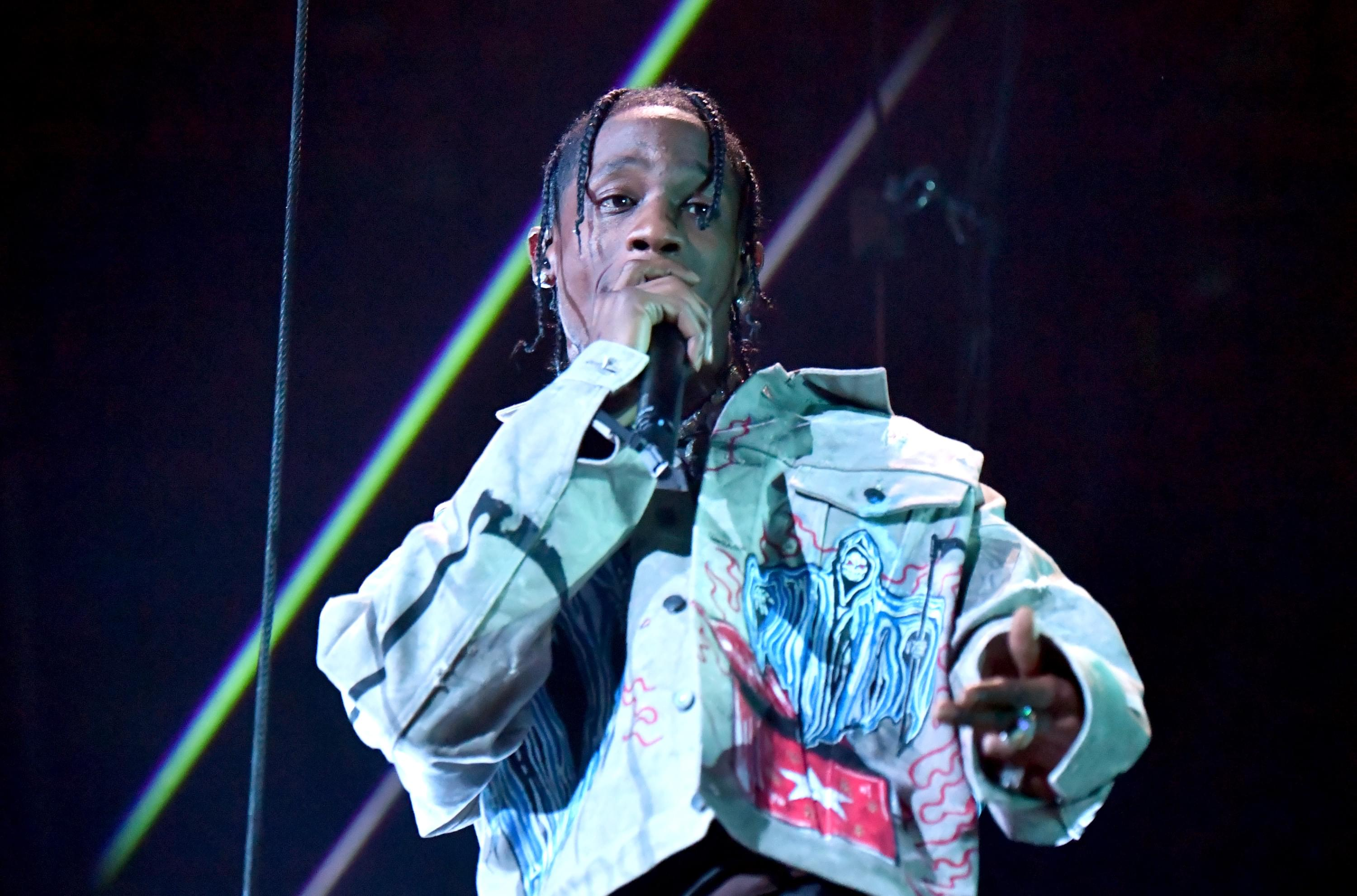 cali christmas artist travis scott set to release exclusive vinyl with fashion house ysl