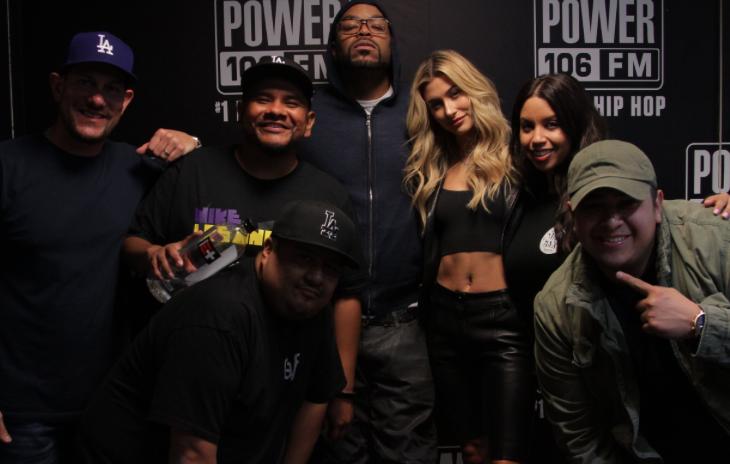 "Method Man & Hailey Baldwin Talk New Rap Battle Series ""Drop The Mic"" [WATCH]"
