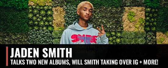 Jaden Smith Talks New Albums, Will Smith Taking Over IG, Mentions Pusha T & Drake Beef [WATCH]