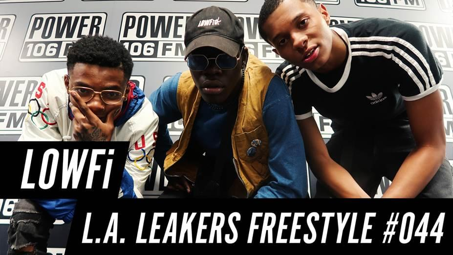 LOWFi Freestyle With The L.A. Leakers [WATCH]