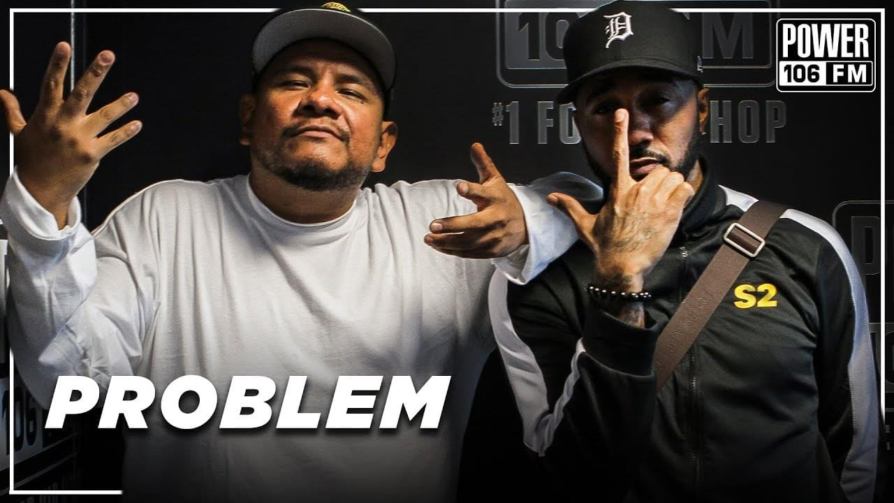 "Problem Talks Snoop Dogg Influence, Upcoming ""S2"" Album, New Wave Of West Coast Rappers [WATCH]"