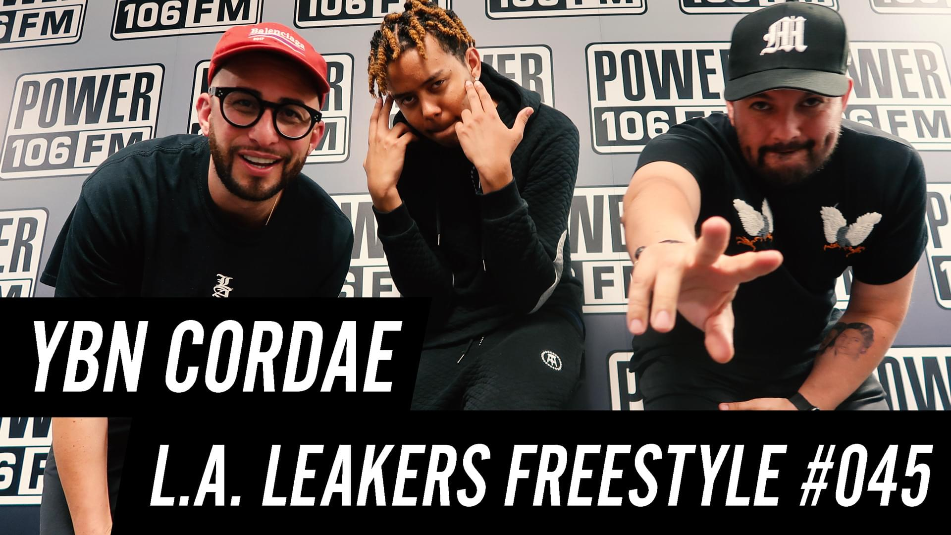 YBN Cordae Freestyles With The L.A. Leakers [WATCH]