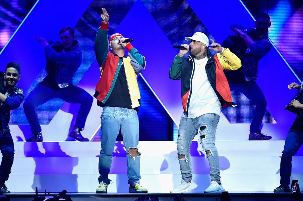 Nicky Jam And J Balvin Tease 'X' Remix
