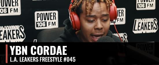 YBN Cordae Freestyles With The L.A. Leakers