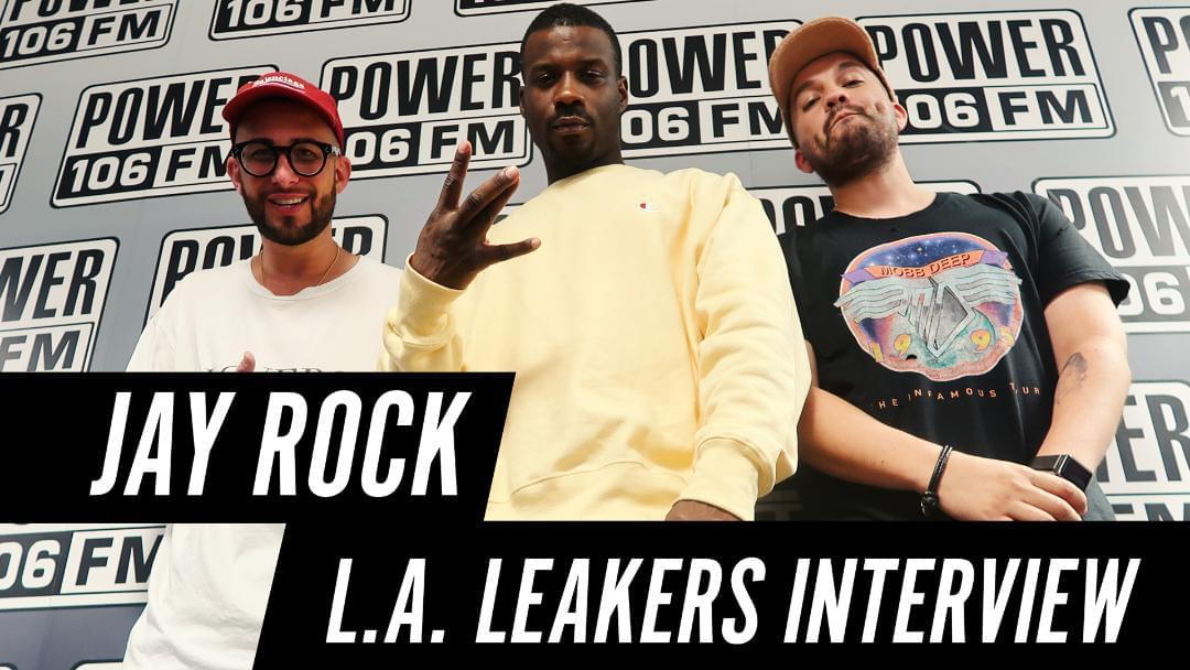 Jay Rock checks in with L.A. Leakers to talk about the new album 'Redemption' [WATCH]