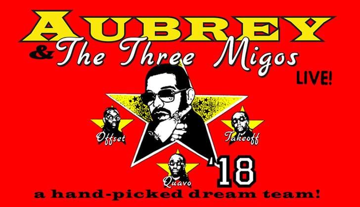 Drake: Aubrey & The Three Migos Tour