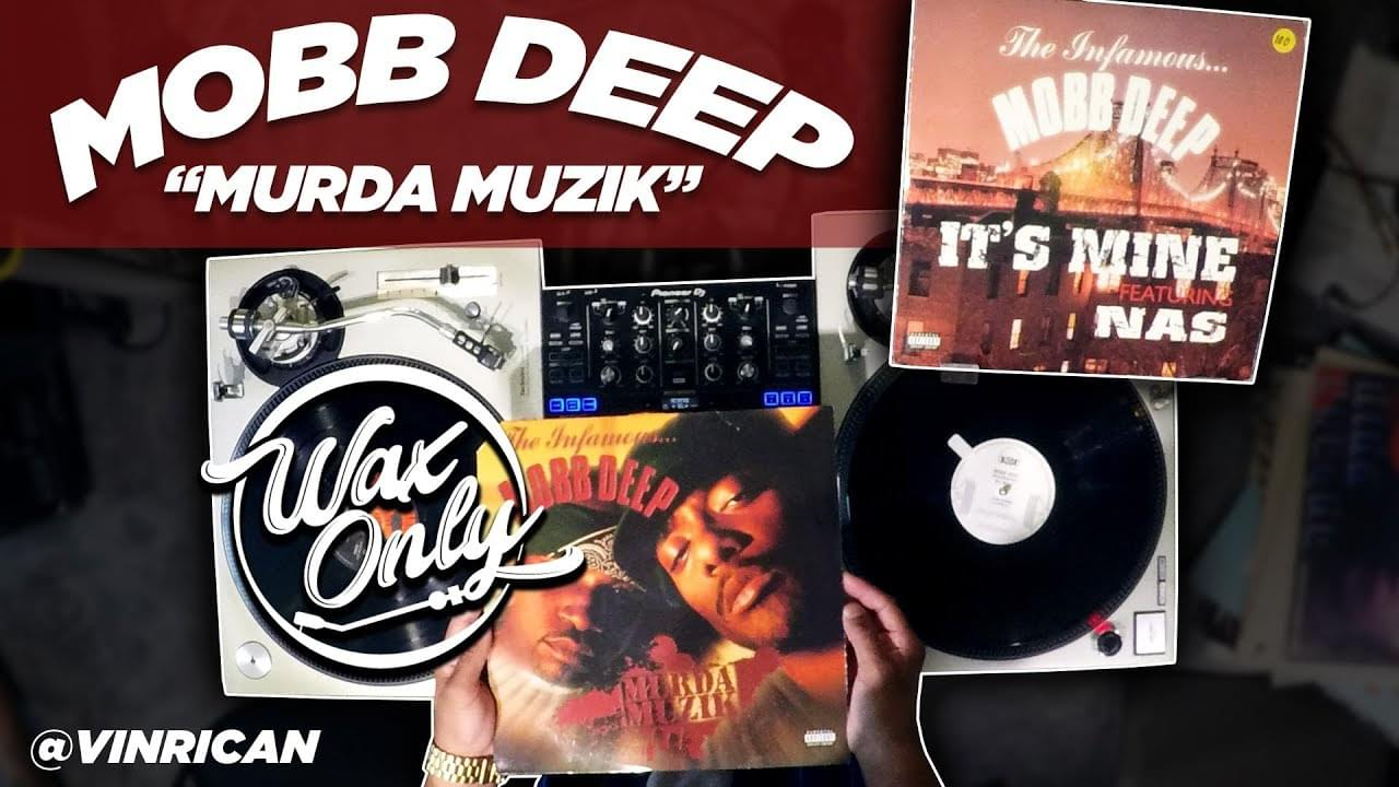 "#WaxOnly: VinRican Samples Classics From Mobb Deep's ""Murda Muzik"" [WATCH]"