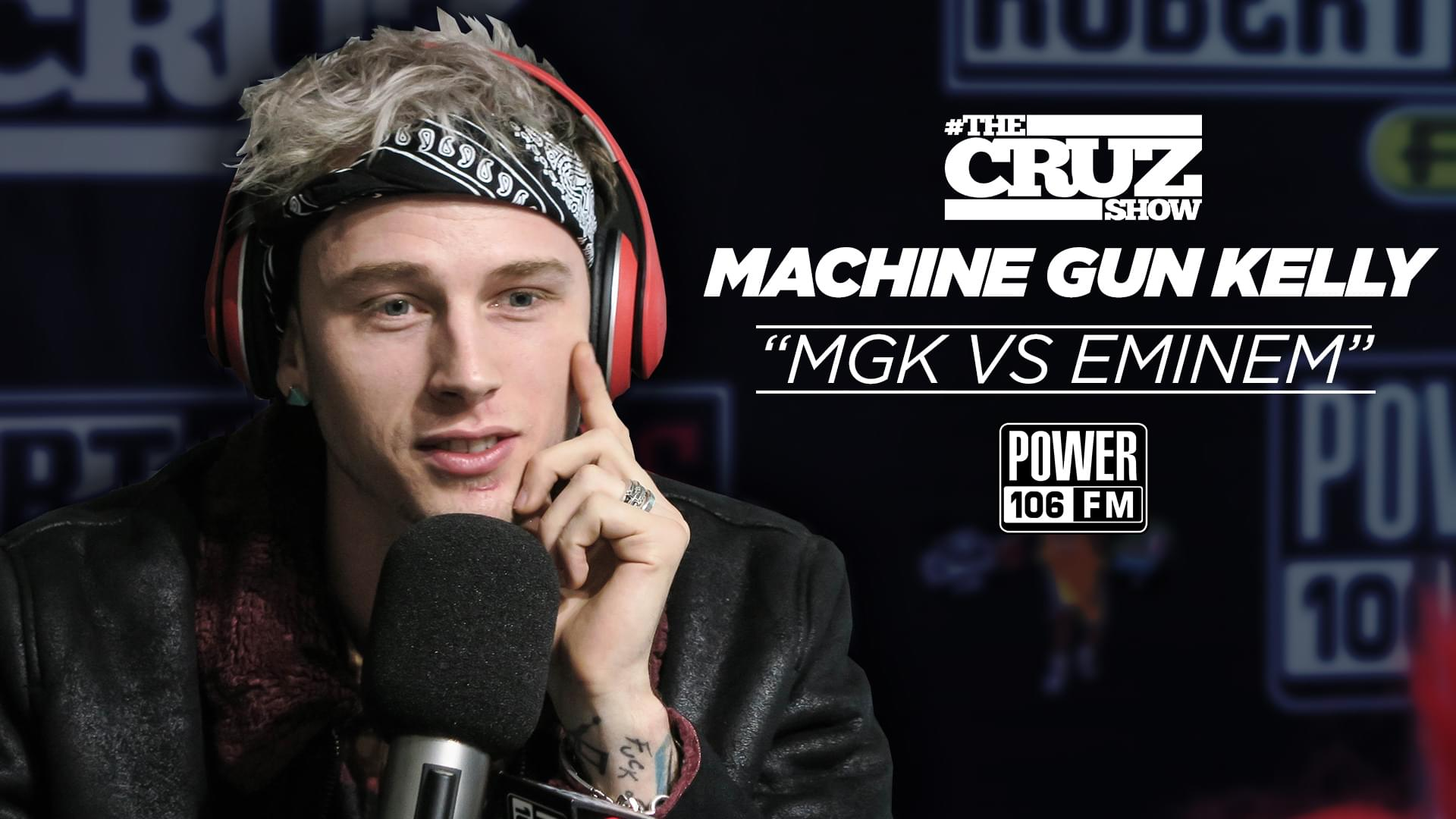 cruz show says mgk has a shot in eminem beef but can t go bar for