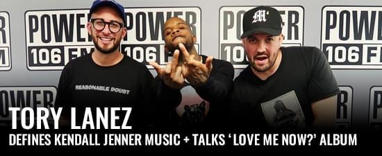 Tory Lanez Defines Kendall Jenner Music, Talks 'Love Me Now?' Album & Crowd Surfing
