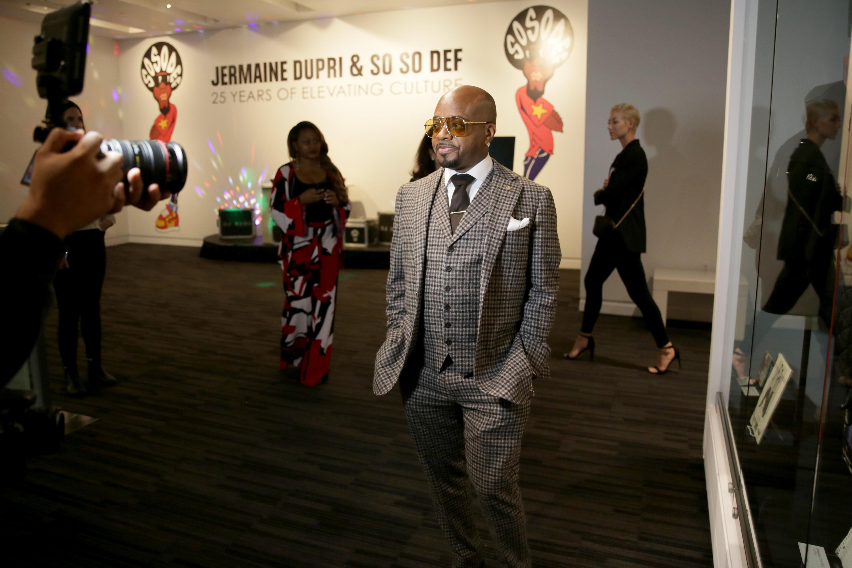 Jermaine Dupri Opens So So Def Exhibit At GRAMMY Museum