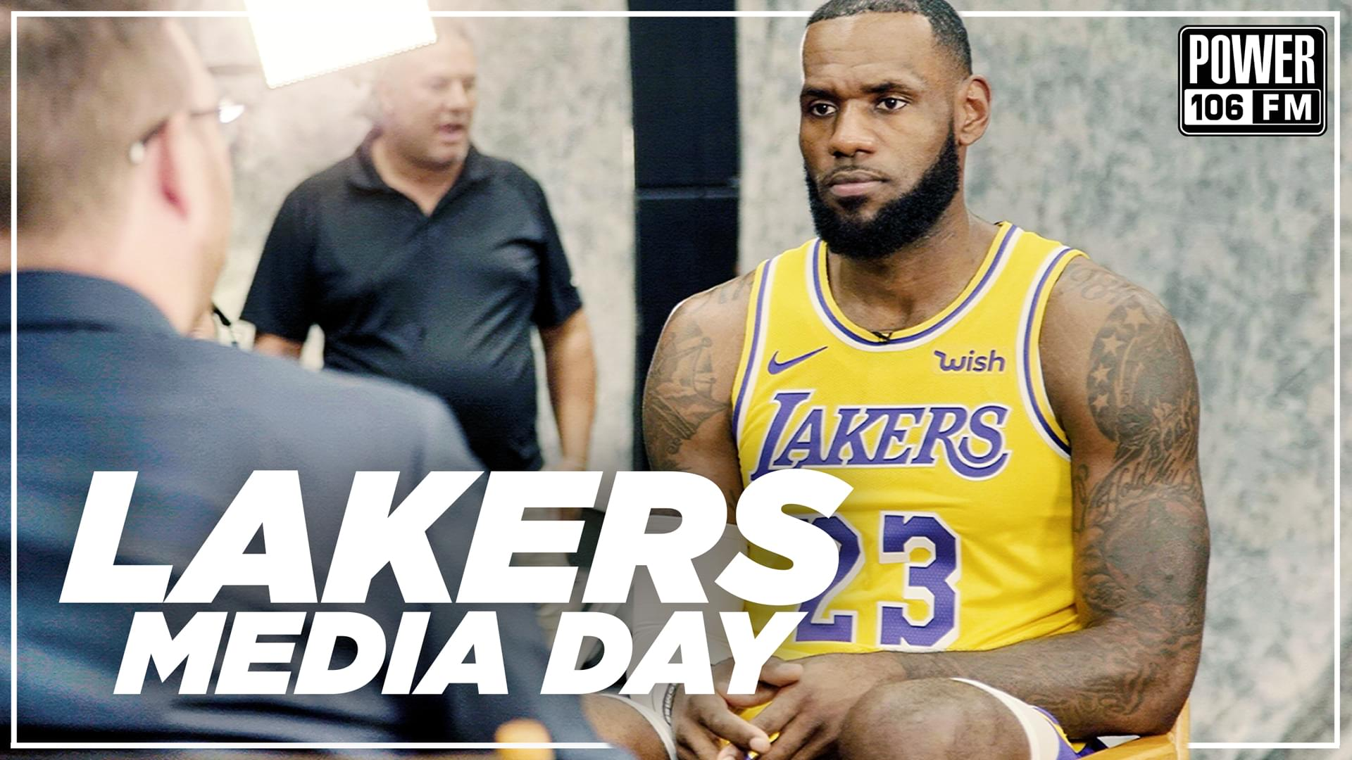 Lakers Media Day 2018 With LeBron & Team On Upcoming Season [WATCH]