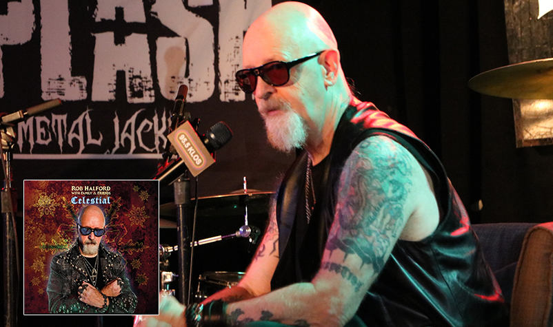 "Rob Halford Releases his all-new Christmas album, titled ""Celestial"""