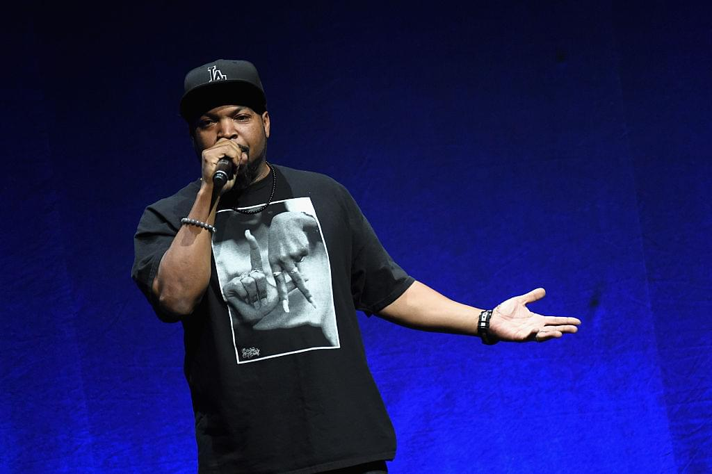 Ice Cube Says He's Supporting The Golden State Warriors For The Finals