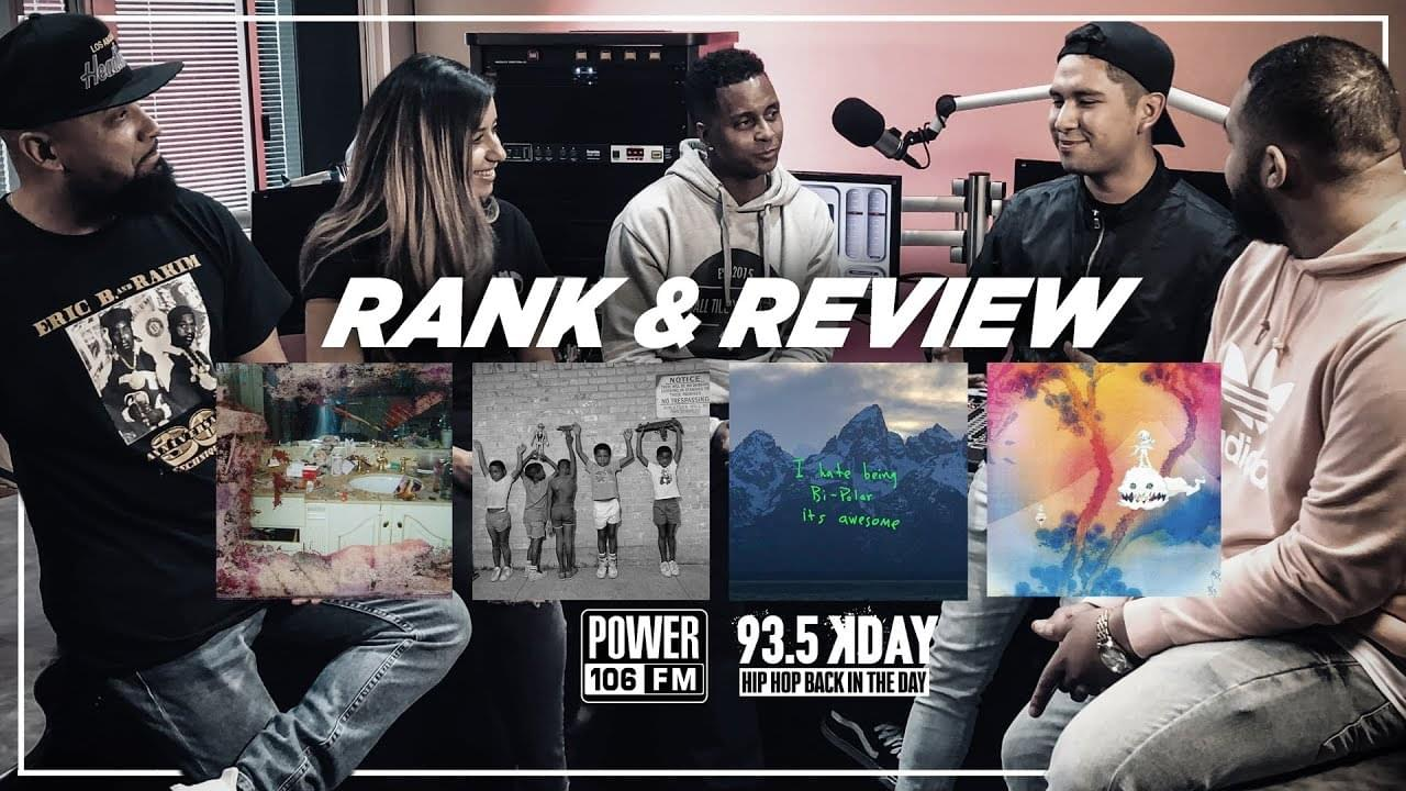 Rank & Review: G.O.O.D. Music's Ye, Daytona, Kids See Ghosts, & Nasir Albums [WATCH]