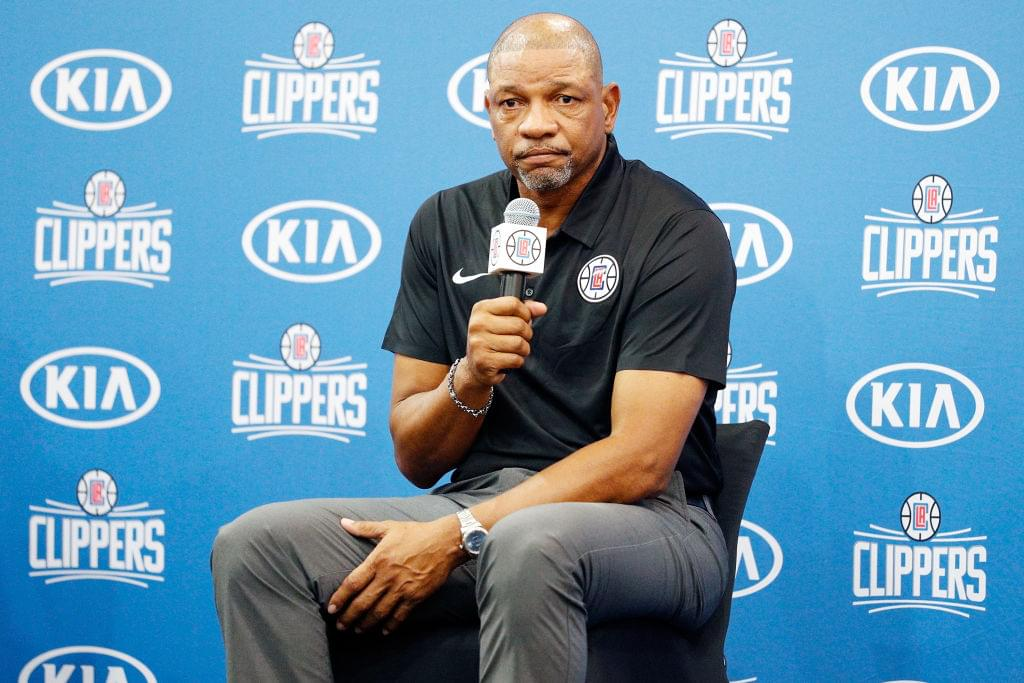 Doc Rivers Says It's Easy for Clippers to Rebuild Since They 'Haven't Won Crap'