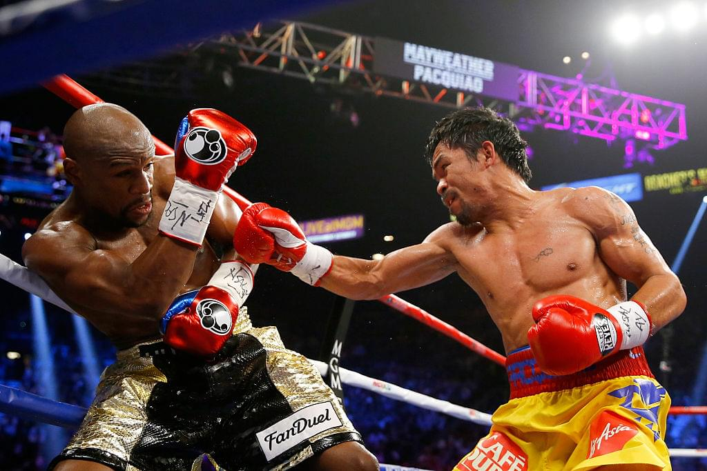 Manny Pacquiao Challenges Floyd Mayweather To Another Fight
