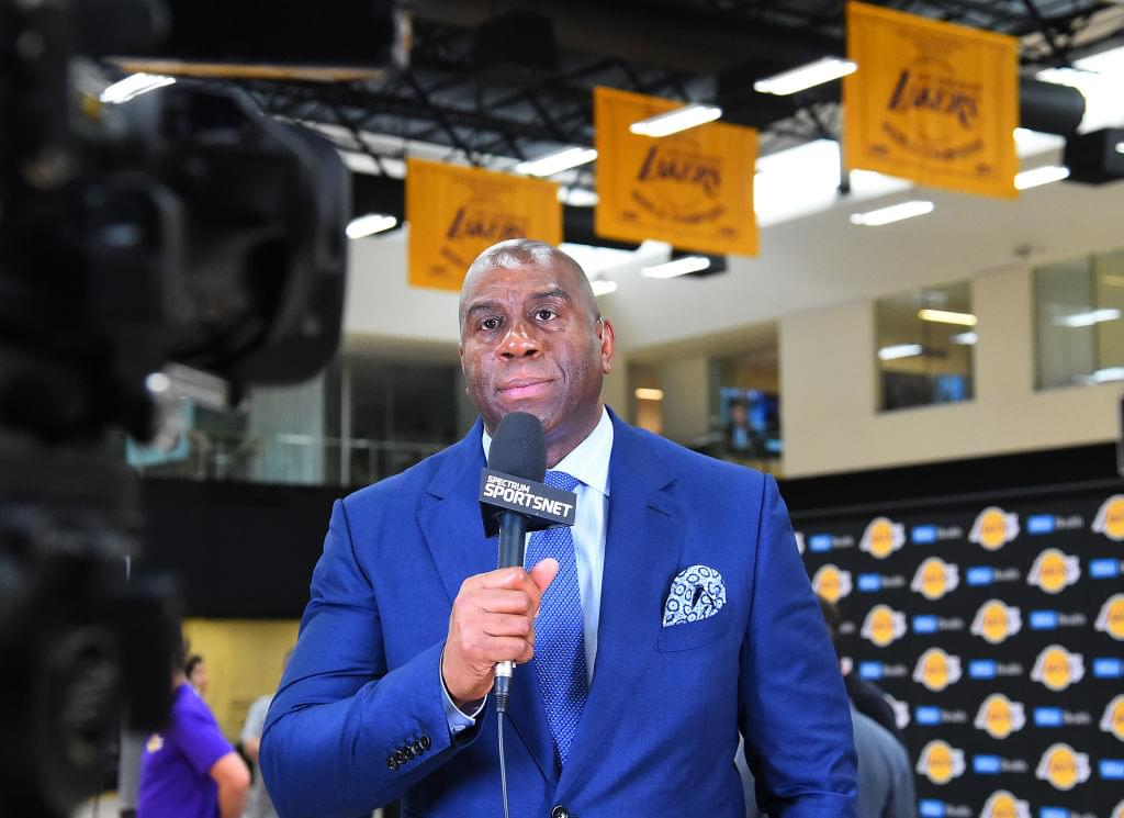 "Magic Johnson Not Scared Of Golden State Warriors: ""They Don't Keep Me Up At Night"""