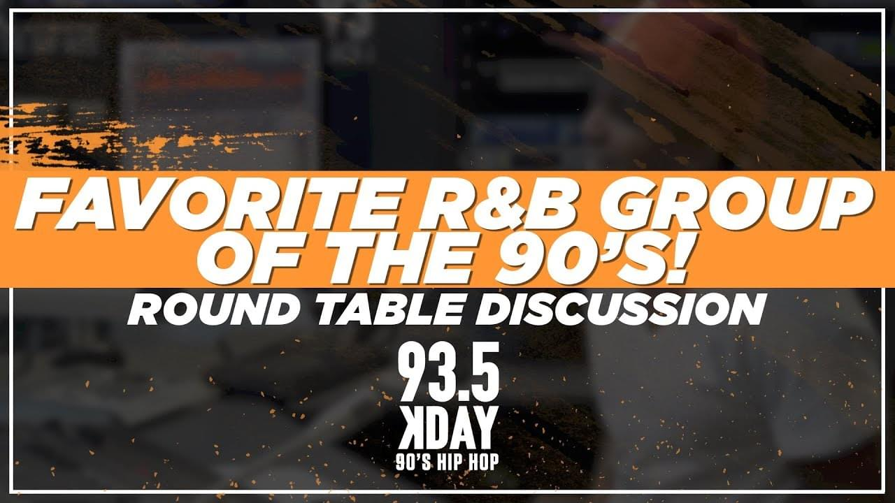 Romeo and The 93.5 KDAY Crew Talk The Best R&B Groups of The 90s