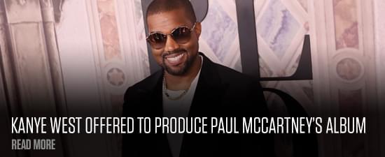 Kanye West Offered To Produce Paul McCartney's Album