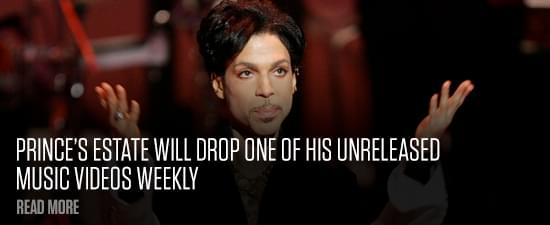 Prince's Estate Will Drop One Of His Unreleased Music Videos Weekly