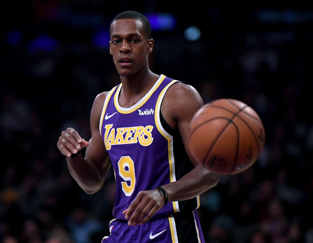 Rajon Rondo Will Miss Weeks Due To Broken Hand