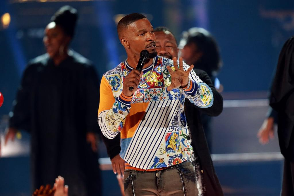 Jamie Foxx Explains How Not To Get Robbed