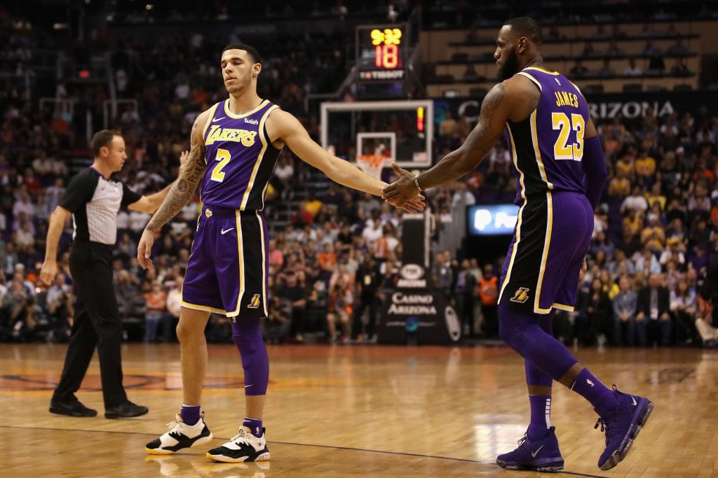 Lonzo Ball Says Playing With LeBron James Takes Pressure Off Him