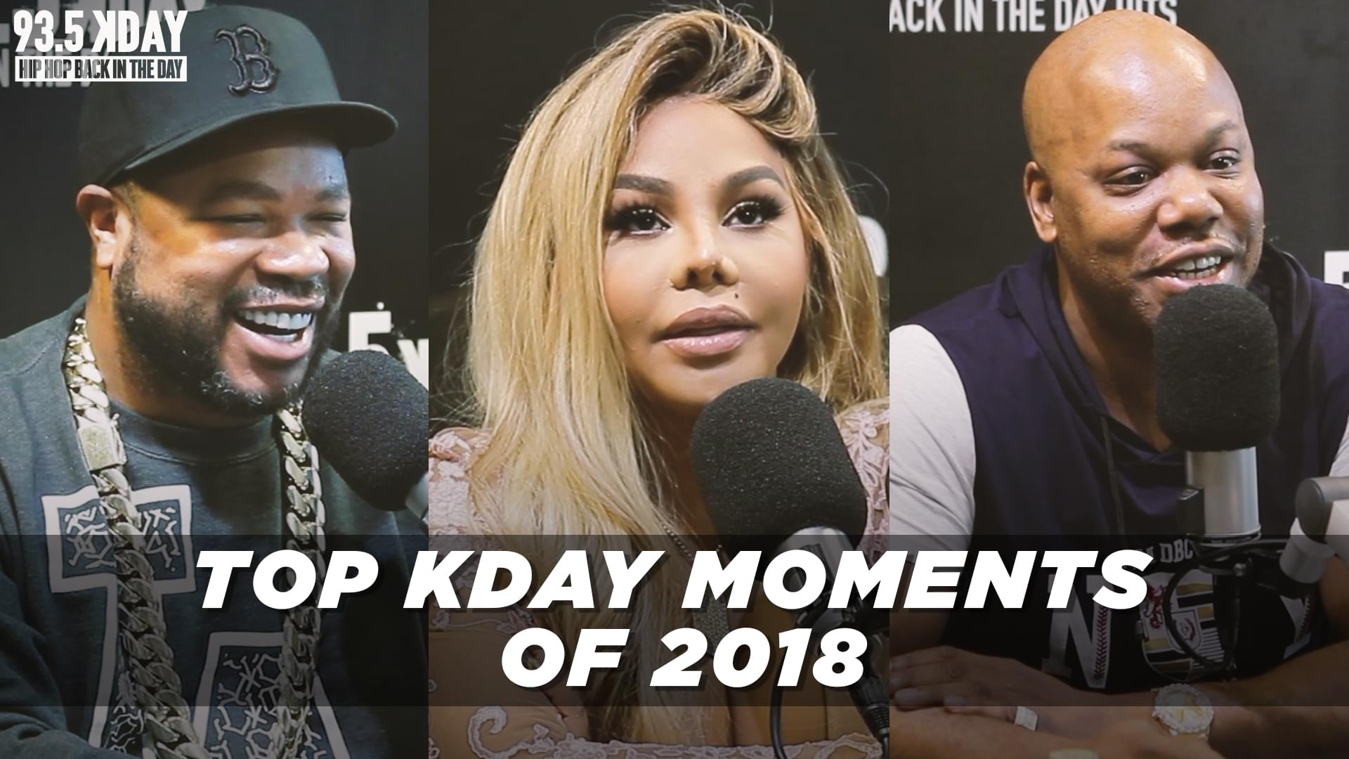 [WATCH]: Top KDAY Moments Of 2018