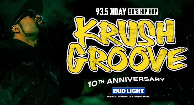 93.5 KDAY's Krush Groove @ The Forum