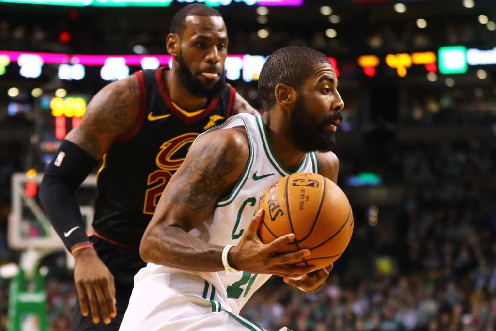 Kyrie Irving Says He Would Be Interested In Teaming With LeBron James Again