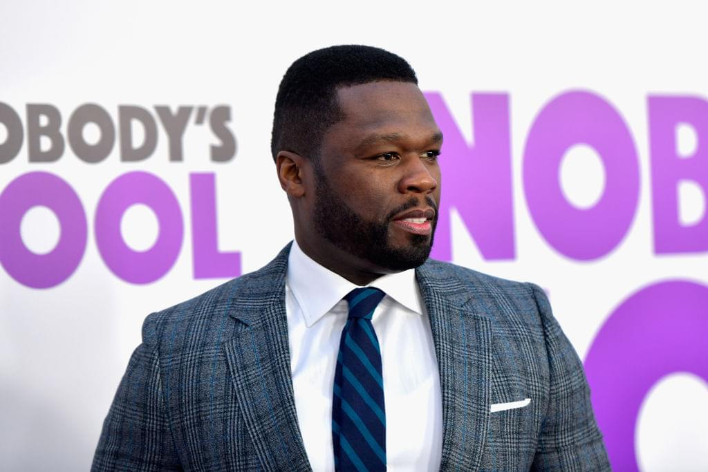 50 Cent Celebrates New Television Show