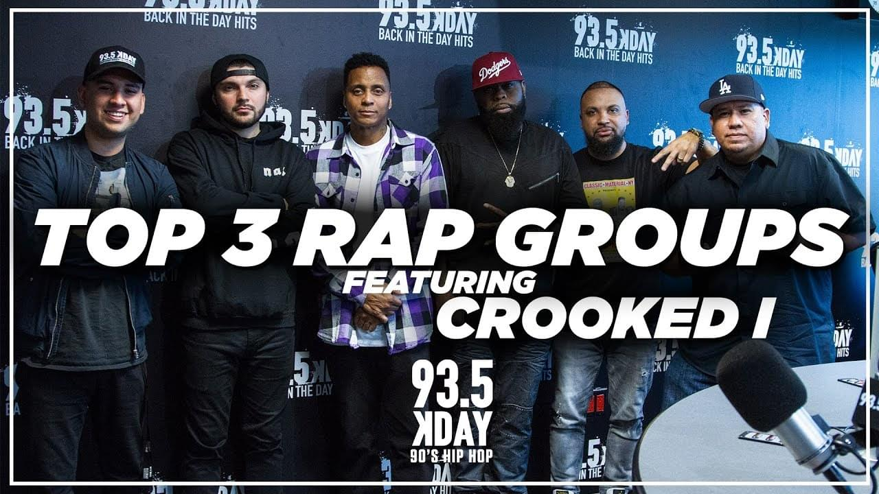 Top 3 Rap Groups Of All Time With Special Guest Crooked I