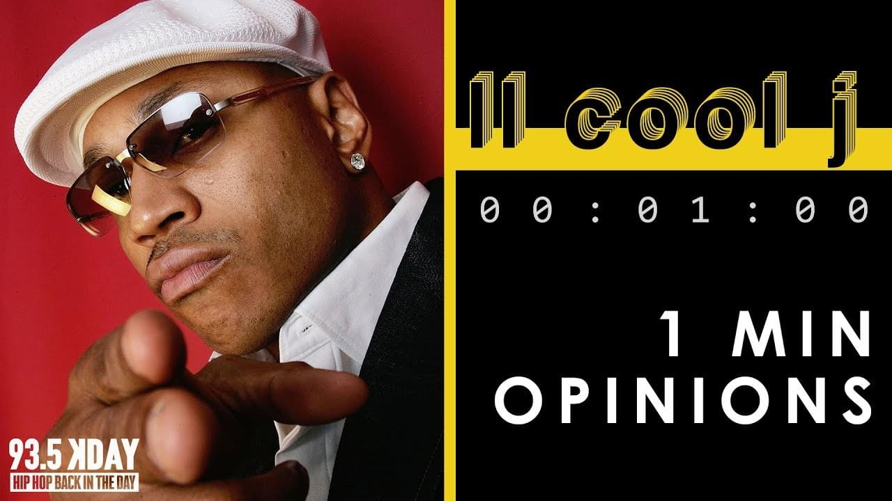 KDAY DJ's Share Their '1 Minute Opinions' On LL Cool J