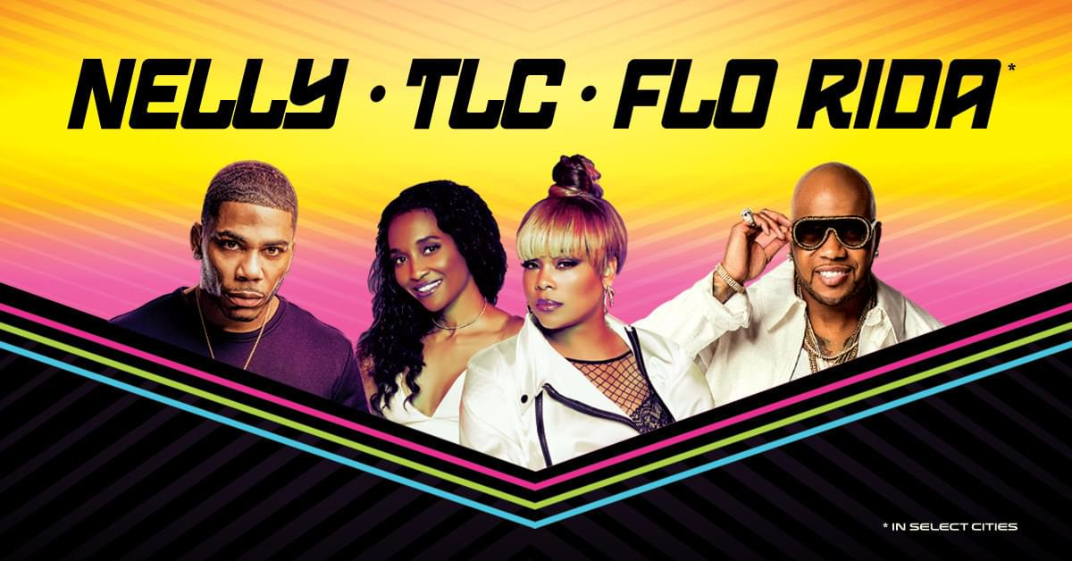 Nelly, TLC & Flo Rida Announce Upcoming Tour