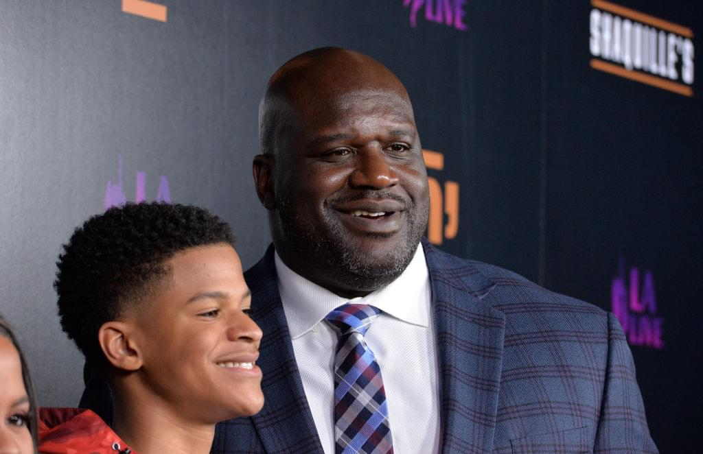 Shaq Opens New Restaurant in Los Angeles