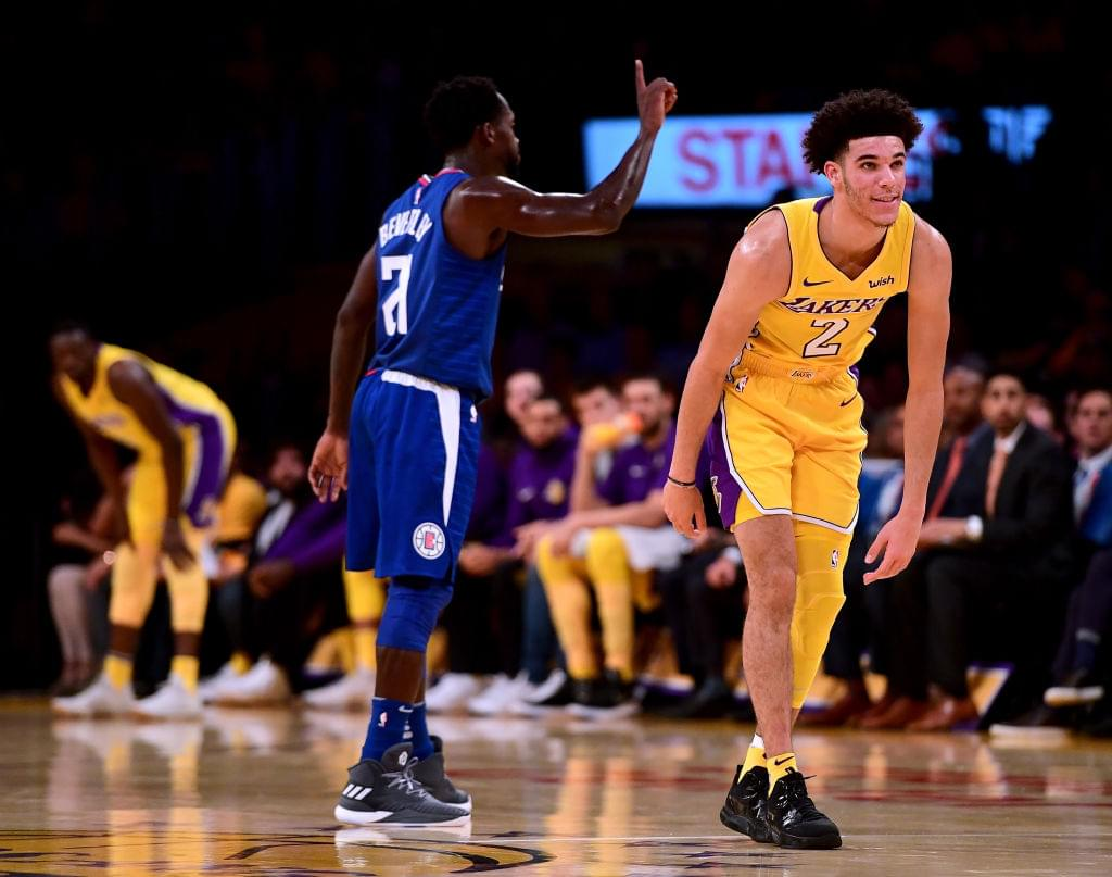 "Clippers' Patrick Beverley Describes Lonzo Ball In One Word: ""Easy"""