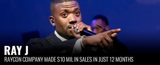Ray J's Raycon Company Made $10 Mil in Sales in Just 12 Months
