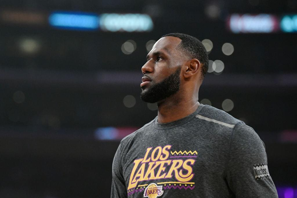"LeBron James Will Reportedly Skip FIBA World Cup To Film ""Space Jam 2"""