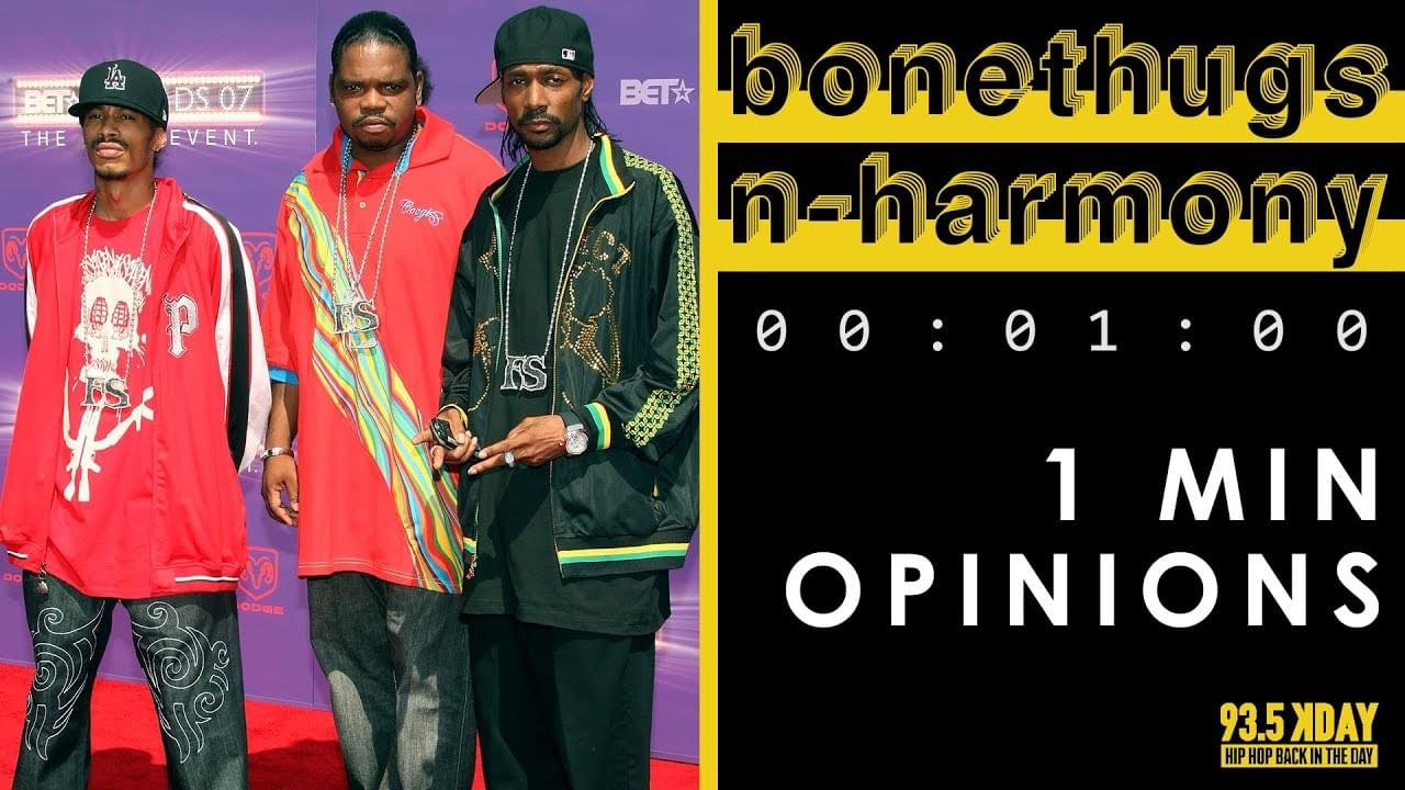 KDAY Host's Share Their '1 Minute Opinions' On Bone Thugs-n-Harmony [WATCH]