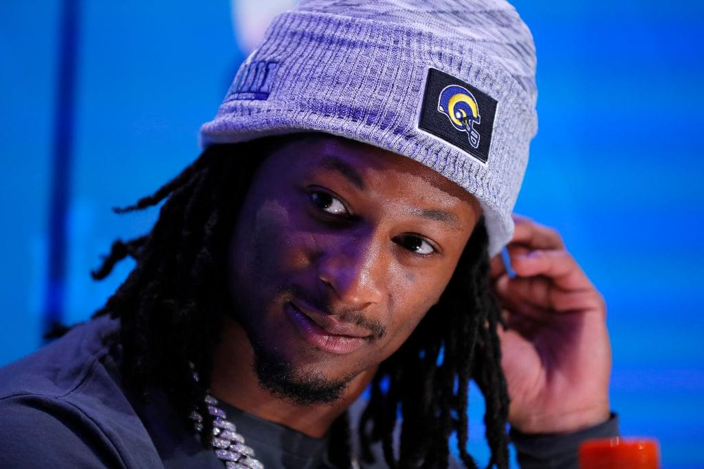 "Todd Gurley Offers Knee Injury Update: ""It's Feeling Pretty Good"""