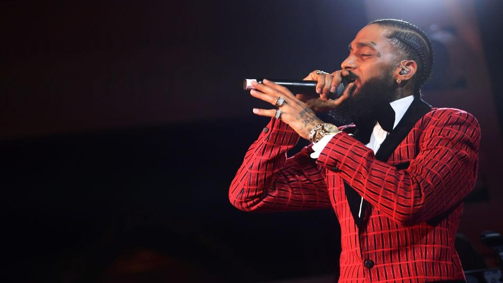 Nipsey Hussle Earns First Top 10 Billboard Hot Rap Songs With 'Racks In The Middle'