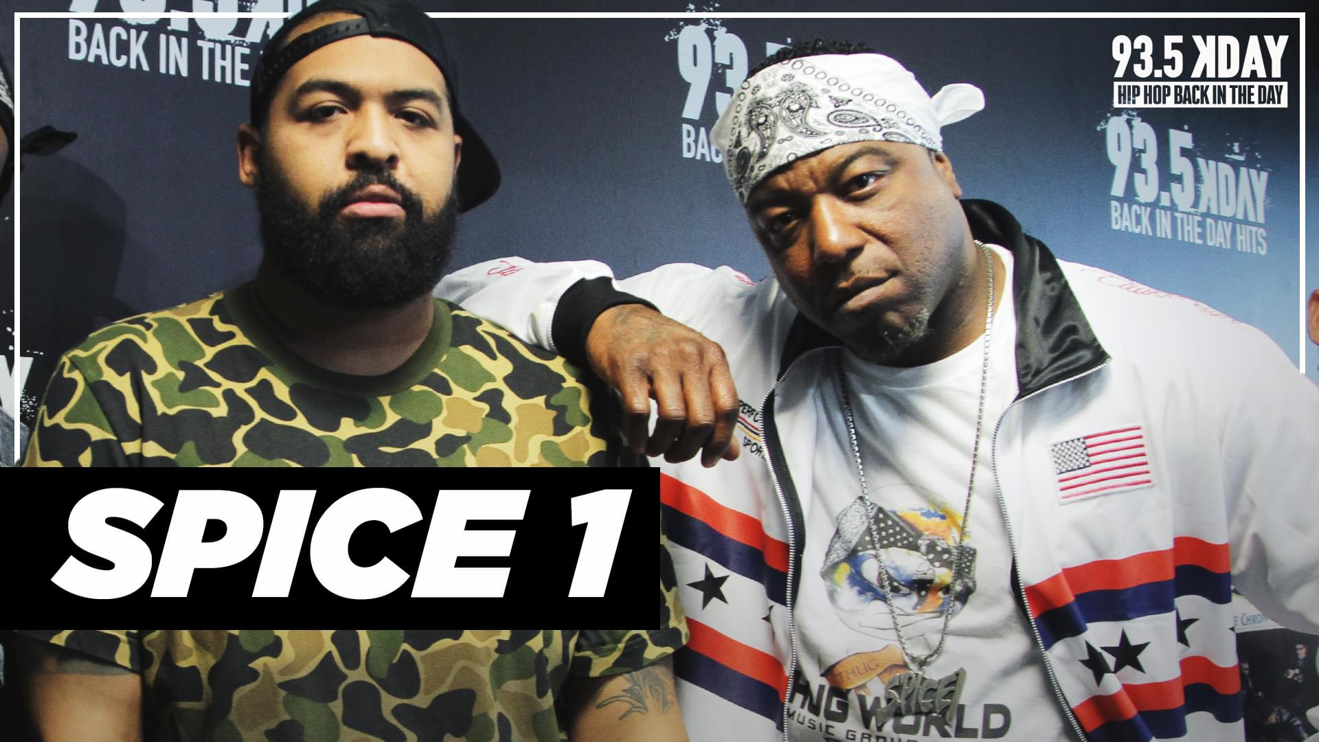Spice 1 Talks 2Pac Friendship, Wilding At Too $hort's House + Surviving Shooting