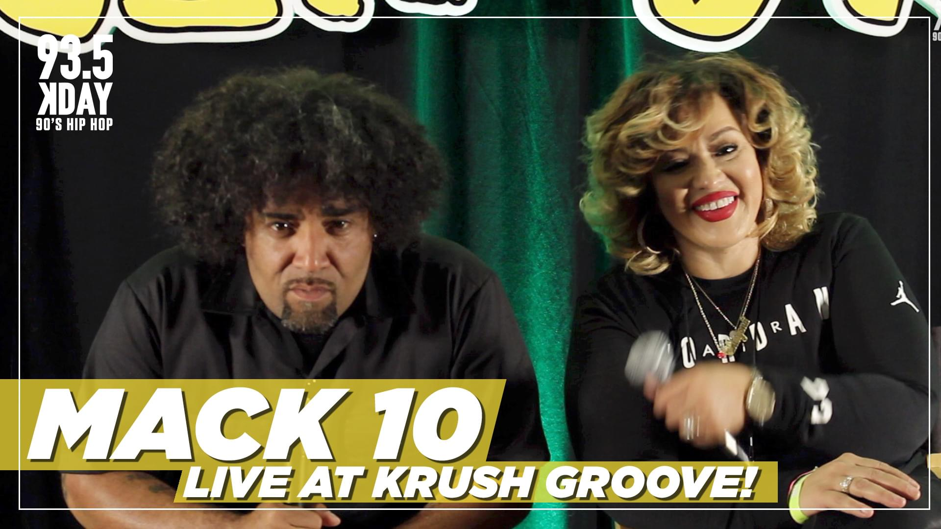 Mack 10 On What 93.5 KDay Means To The Rap Game & Importance of Krush Groove