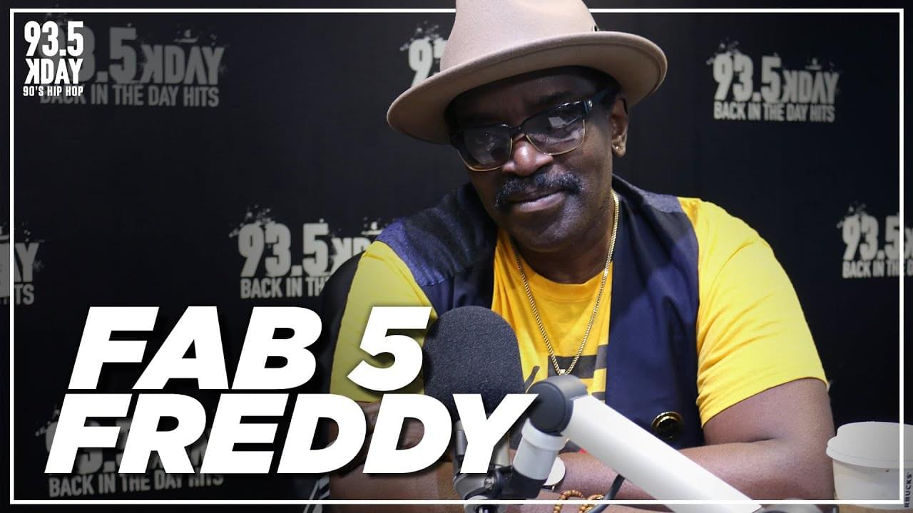 Fab 5 Freddy Talks 'Contact High' Exhibit In L.A. & 'Grass Is Greener' On Netflix