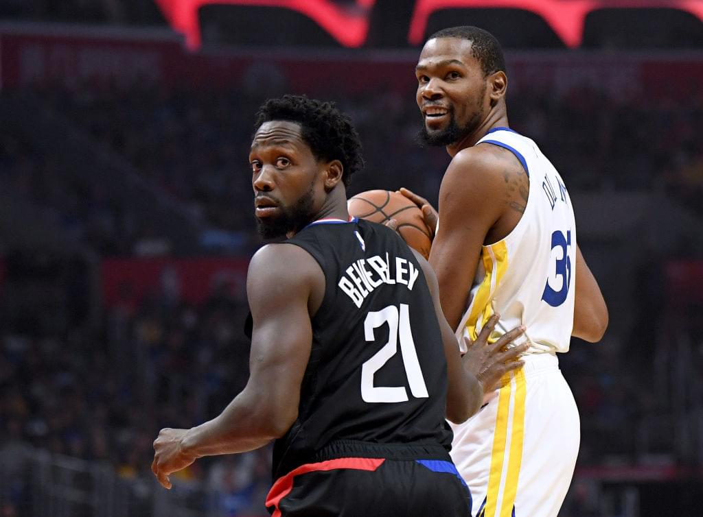 "Clippers' Patrick Beverley Says Kevin Durant ""Is The Best Player In The NBA"""